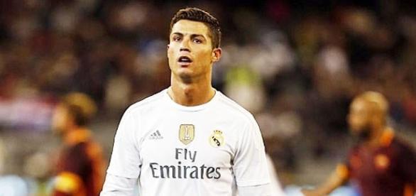 Cristiano Ronaldo con el Real Madrid