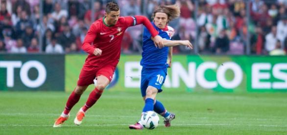 Cristiano Ronaldo con la selección portuguesa