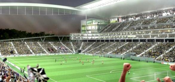 Estádio do timão ganhará novo nome (Divulgação).