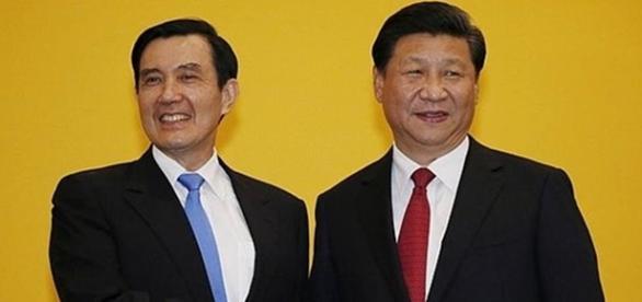 Ma Ying-jeou y Xi Jinping reunidos por primera vez
