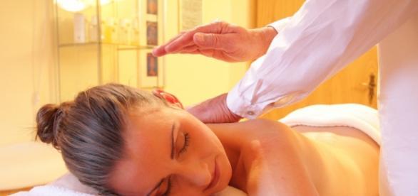 Massagem, momento único de relaxar!