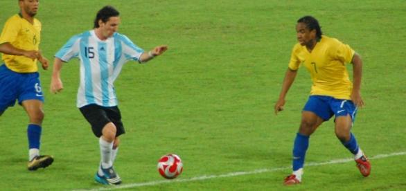 Messi, el gran ausente del clásico sudamericano.