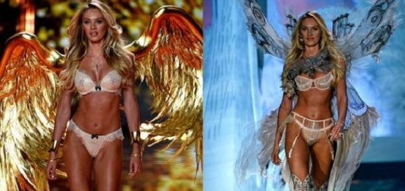 Candice Swanepoel, angel mostra Victoria's Secrets
