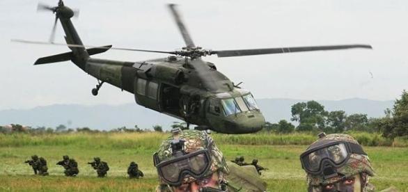 Ejército de Colombia contra las FARC