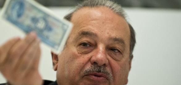El millonario empresario mexicano Carlos Slim