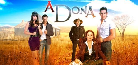 A Dona, novela do SBT e Televisa.