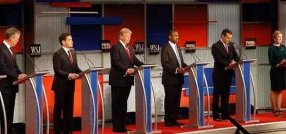 I candidati per il Partito Repubblicano