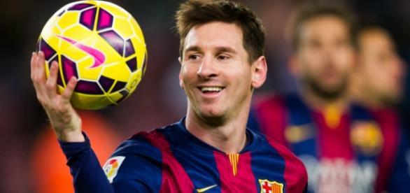 Messi después de un partido (temporada pasada)