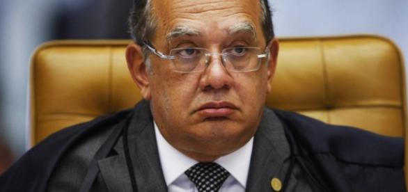Ministro do STF, Gilmar Mendes. (Agência O Globo).