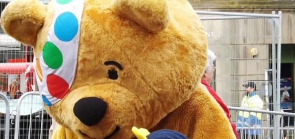 Pudsey Bear is after your donations again