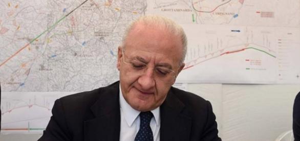 Vincenzo De Luca, presidente Regione Campania