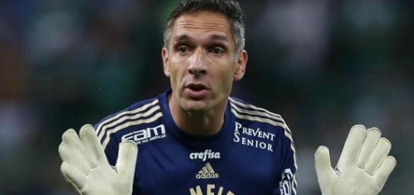 Fernando Prass, destaque do Palmeiras na temporada