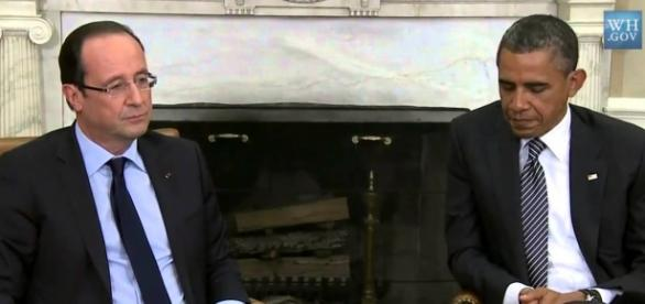 Hollande y Obama unidos contra Estado Islámico