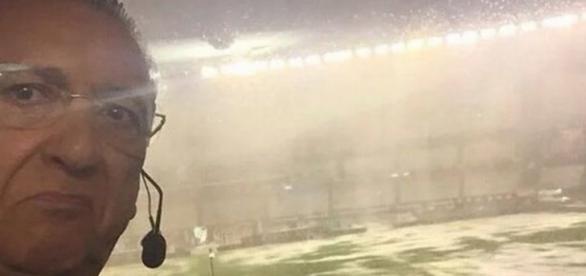 Jogo do Brasil é cancelado por causa de chuva