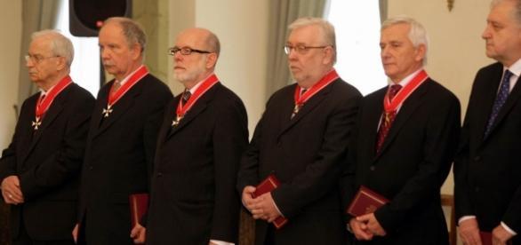 Sędziowie Trybunału Konstytucyjnego z 2010 roku.