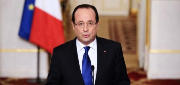 Presidente François Hollande. (UOL Notícias)