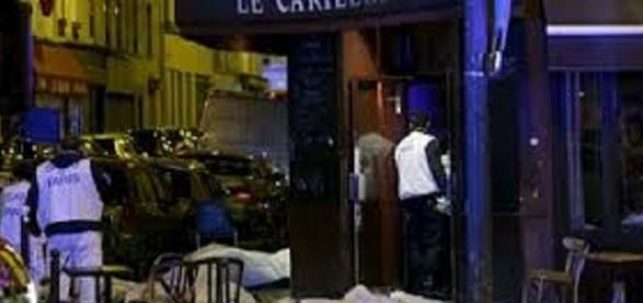 Atentado terrorista pelas ruas de Paris