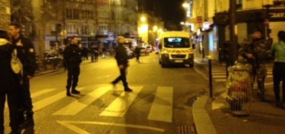 Ausnahmezustand in Paris, Bild: France24