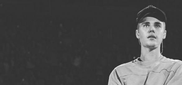 Justin Bieber in Tränen aufgelöst.