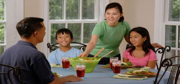 La buena alimentación de los niños
