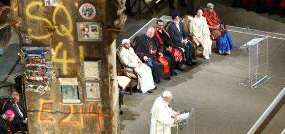 Papa Francisco em celebração ecumênica nos EUA
