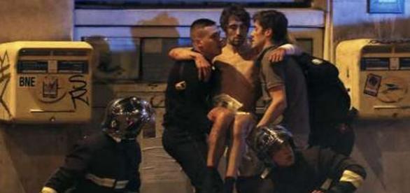 Una din victimele atacului din centrul Parisului