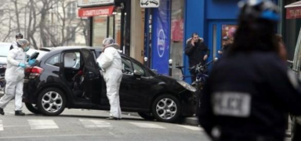Autoritățile franceze au găsit Seat-ul ISIS