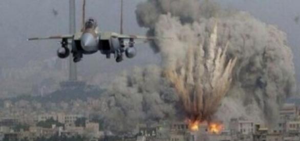 Franța a atacat Statul Islamic
