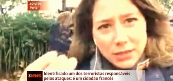 Repórter da Globonews encontra passaporte