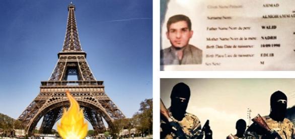 Suspecţi identificaţi după atentatele din Paris