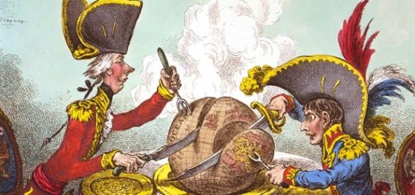 Caricature James Gillray – Plumpudding