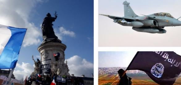 Franţa ripostează după atacul terorist din Paris
