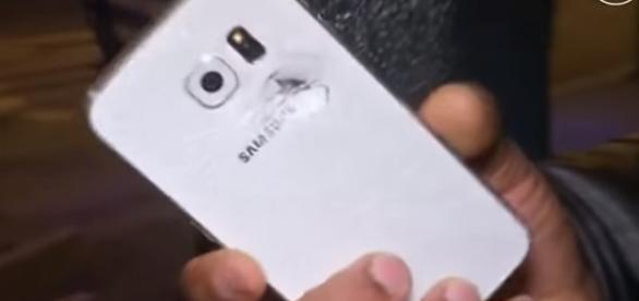 Impacto que frenó el smartphone