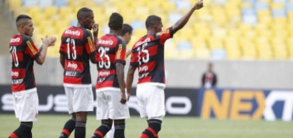 Jogadores Flamengo/ Divulgação Flamengo