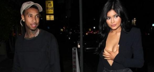 Kylie Jenner e Tyga estão juntos há vários meses