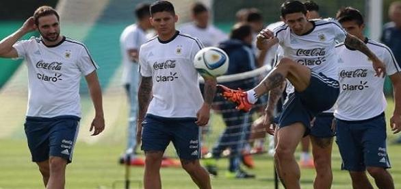 La Selección se entrena en Barranquilla