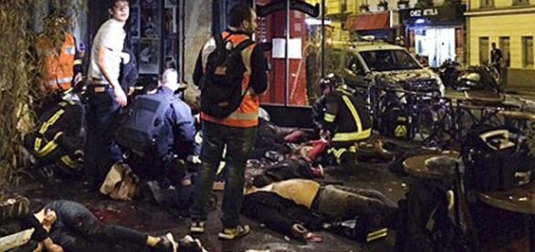 Paris foi tomado pelo terror nessa sexta-feira