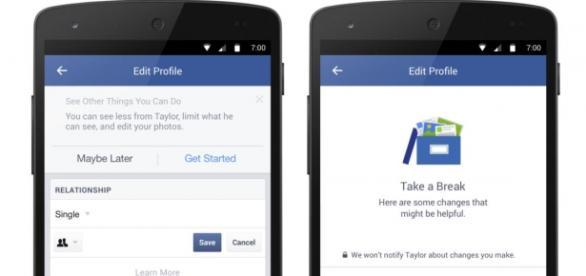 Página oficial do Facebook anuncia novidade.