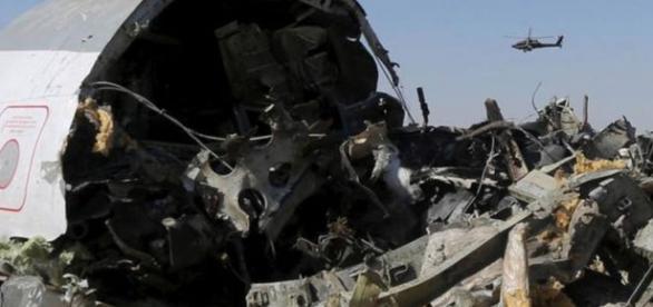 Bomba derrubou avião russo no Egito