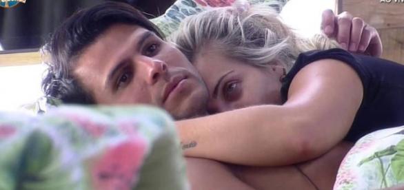 Fim do namoro entre Veridiana e Marcelo
