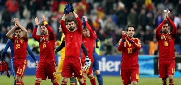 Los jugadores españoles viajan de regreso a Madrid