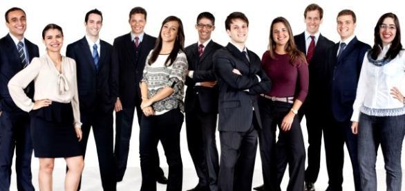 Muitos jovens entram nas empresas como Trainees.