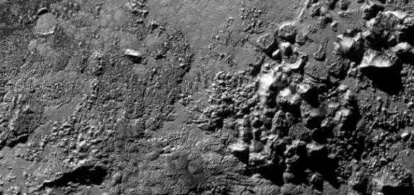 The mountains from Pluto are ice volcanoes