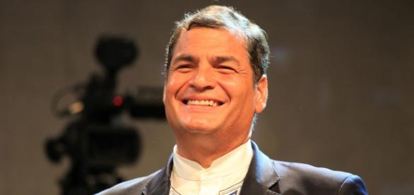 Actual Presidente de Ecuador, Rafael Correa