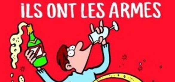 Capa do jornal 'Charlie Hebdo'