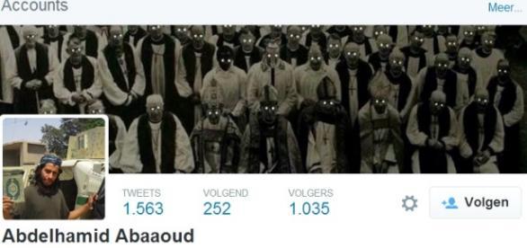 Abdelhamid Abaaoud - Twitter.com, zrzut ekranu