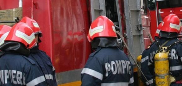 Incendiu la spitalul din Simeria