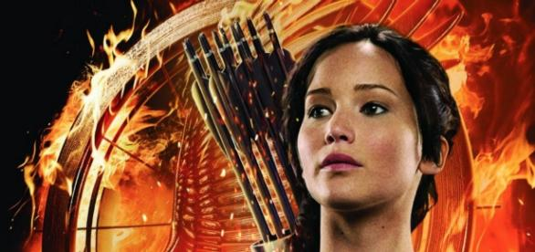 Katniss Everdeen é a personagem principal do filme