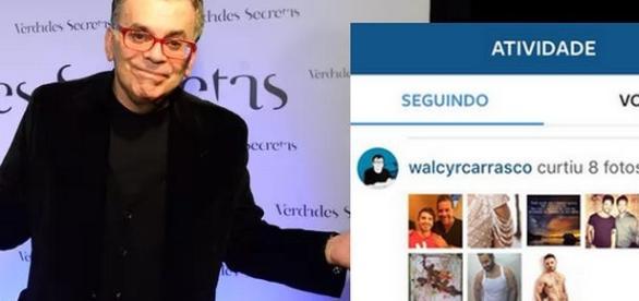 Walcyr Carrasco curte fotos de rapazes na internet