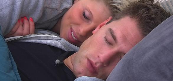 Big Brother-Kandidaten Kevin und Sharon.